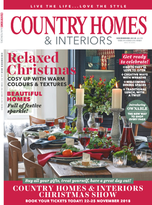 Country Homes & Interiors Dec 2018